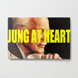 jung at heart Metal Print