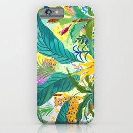 Paradise Jungle iPhone Case