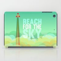toy story iPad Cases featuring reach for the sky.. toy story.. woody by studiomarshallarts