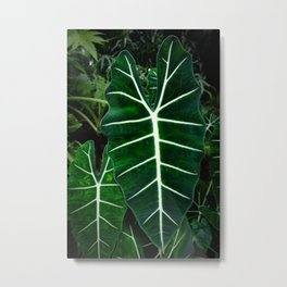 Emerald Elephant Metal Print