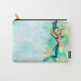 Cheeky Mermaid 4 Carry-All Pouch