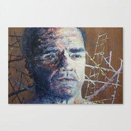 Making of a Man Canvas Print