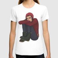 zayn T-shirts featuring Comfy Zayn by Ashley R. Guillory