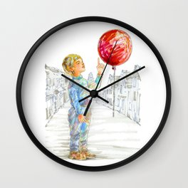 Cinema1 - The Red Balloon Wall Clock