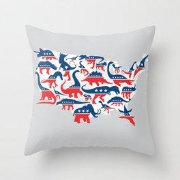 Battleground Throw Pillow