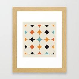 Art print mid century modern, mid century modern art, mid century modern decor, prints, abstract art Framed Art Print