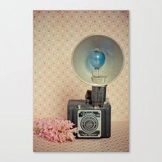 Traveler 120 Vintage Camera Canvas Print