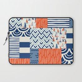 Beautiful Patch 9 (Nautical) Laptop Sleeve