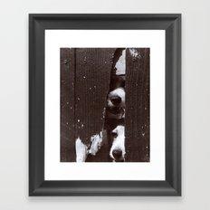 Through Thick & Thin Framed Art Print