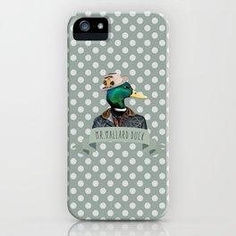 MR. MALLARD DUCK iPhone Case