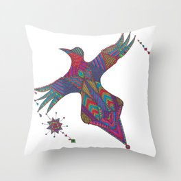 Color for Life Throw Pillow