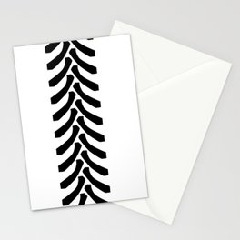 Tractor Tyre Tread Marks Stationery Cards