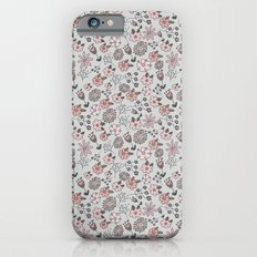 Hand Drawn Florals iPhone 6s Slim Case