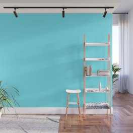 Spring - Pastel - Easter Blue Solid Color 2 Wall Mural
