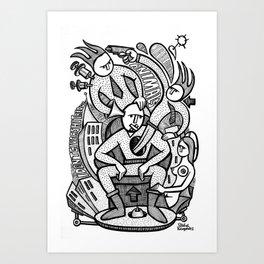 Reservoir Gods - PopCore 14 Art Print