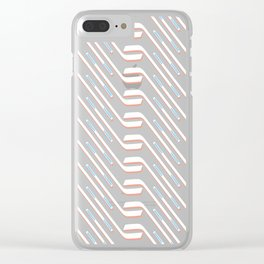 Sticks On Pink Ice #society6 #hockey #sport Clear iPhone Case