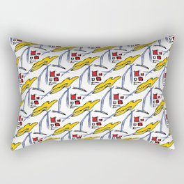 Abstract Pop-art Rectangular Pillow
