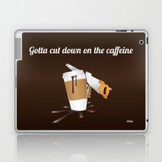 Gotta cut down on the caffeine Laptop & iPad Skin