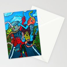 People and Generations  Stationery Cards