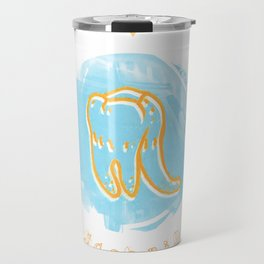 Scorpio - Teeth Zodiac Travel Mug