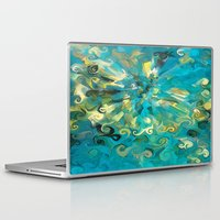 fireworks Laptop & iPad Skins featuring Fireworks by Paul Kimble
