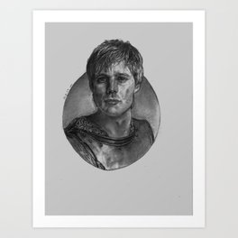 Arthur Pendragon Art Print