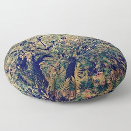 Spring forest Floor Pillow