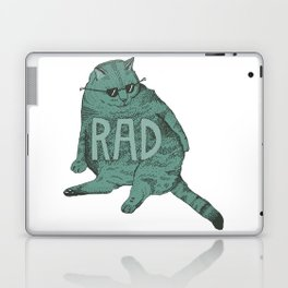 Rad Cat Laptop & iPad Skin