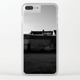 Behind the walls Clear iPhone Case