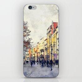 Torun city art 3 #torun #city iPhone Skin
