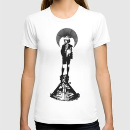 there're new worlds inside me T-shirt