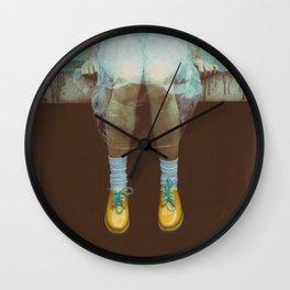 Sitting at the rain! Wall Clock