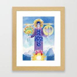 Melkitsedek Framed Art Print