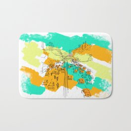 big city Bath Mat