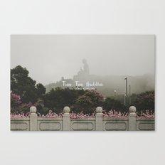 Hong Kong Tian Tan Buddha Canvas Print