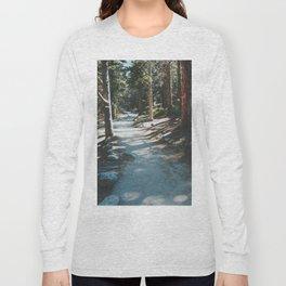 Sunlit Path In Colorado Long Sleeve T-shirt