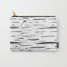 Birch Black and White Carry-All Pouch