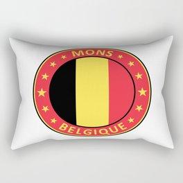Mons, Belgique Rectangular Pillow