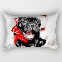 Xmas Frenchie II Rectangular Pillow