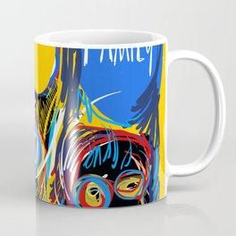 A Happy Loving Family Street Art Graffiti Coffee Mug