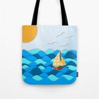 adventure Tote Bags featuring Adventure by Find a Gift Now