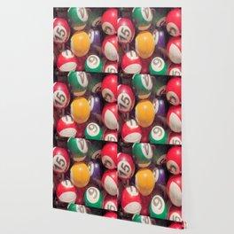 Billiard Balls Wallpaper