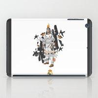 ronaldo iPad Cases featuring Football Legends: Cristiano Ronaldo by Akyanyme