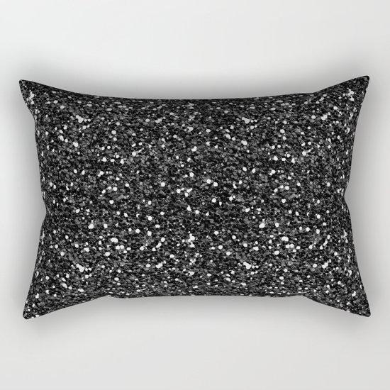Black Diamond 01 Rectangular Pillow