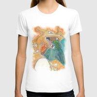charizard T-shirts featuring Charizard by Luke Jonathon Fielding