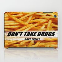 fries iPad Cases featuring French Fries by Ispas Sorin
