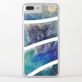 Shore Line II Clear iPhone Case