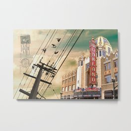 From Oakland, With Love Metal Print