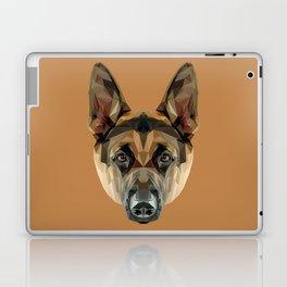 German Shepherd // Natural  Laptop & iPad Skin