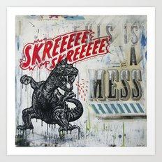 Skreeee Art Print